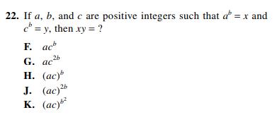 ACT-1572 Math Q 22