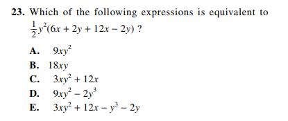 ACT-1572 Math Q 23