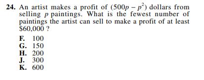 ACT-1572 Math Q 24