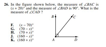 ACT-1572 Math Q 26