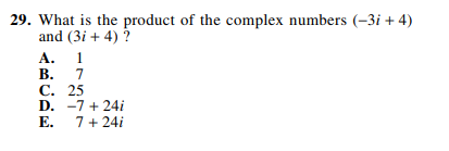 ACT-1572 Math Q 29