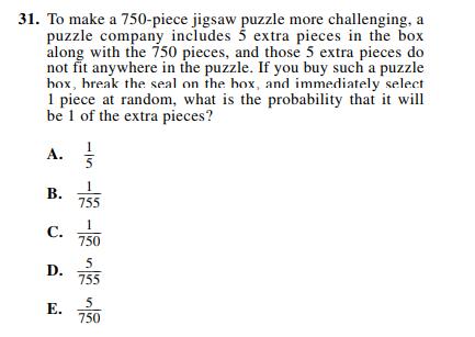 ACT-1572 Math Q 31