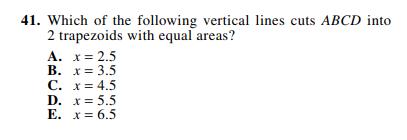 ACT-1572 Math Q 41
