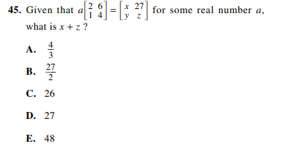 ACT-1572 Math Q 45