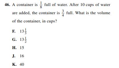 ACT-1572 Math Q 46