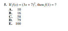 ACT-1572 Math Q 5