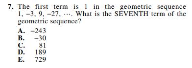 ACT-1572 Math Q 7