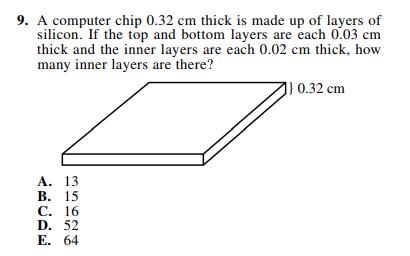 ACT-1572 Math Q 9
