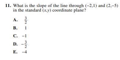 ACT-1874 Math Q 11