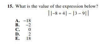 ACT-1874 Math Q 15