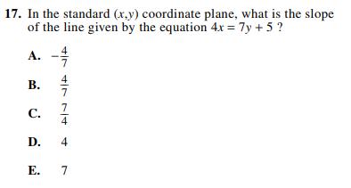 ACT-1874 Math Q 17