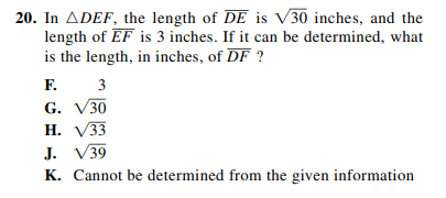 ACT-1874 Math Q 20