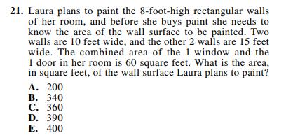 ACT-1874 Math Q 21