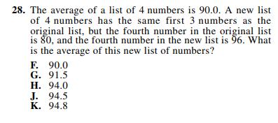 ACT-1874 Math Q 28