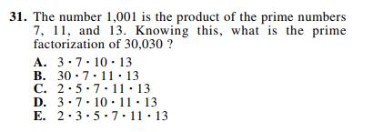 ACT-1874 Math Q 31