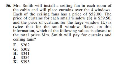 ACT-1874 Math Q 36
