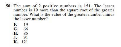 ACT-1874 Math Q 50