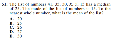 ACT-1874 Math Q 51