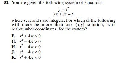 ACT-1874 Math Q 52