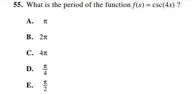ACT-1874 Math Q 55