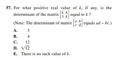 ACT-1874 Math Q 57