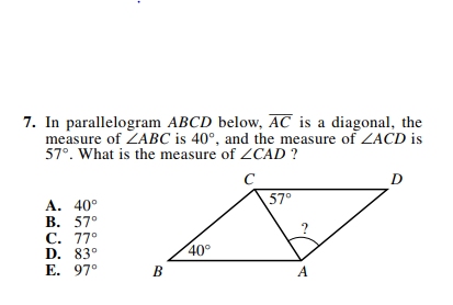 ACT-1874 Math Q 7